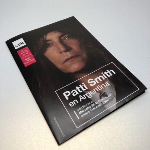 Patti Smith en Argentina. CCK