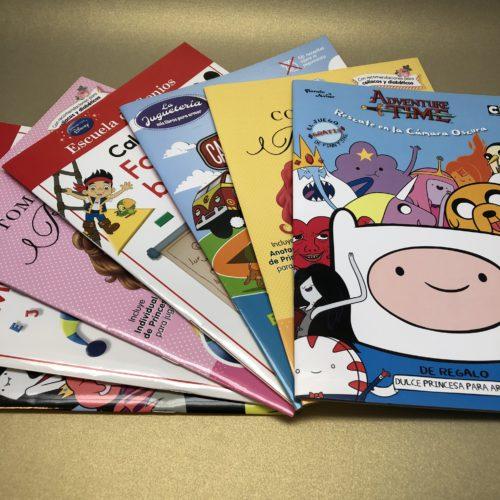 Libros infantiles. Actividades con papel de calcar