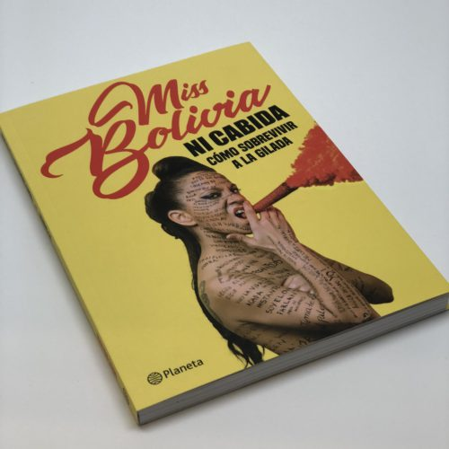 Ni cabida. Miss Bolivia